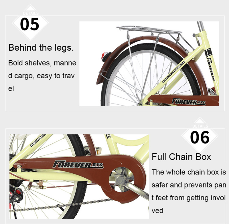Discount 26 Inch Speed Change Adult Bicycle Male And Female Student Bicycle Ordinary Bicycle 9