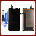 LCD Display Screen With Touch Screen Digitizer Assembly For Lenovo S580 Black Free Shipping
