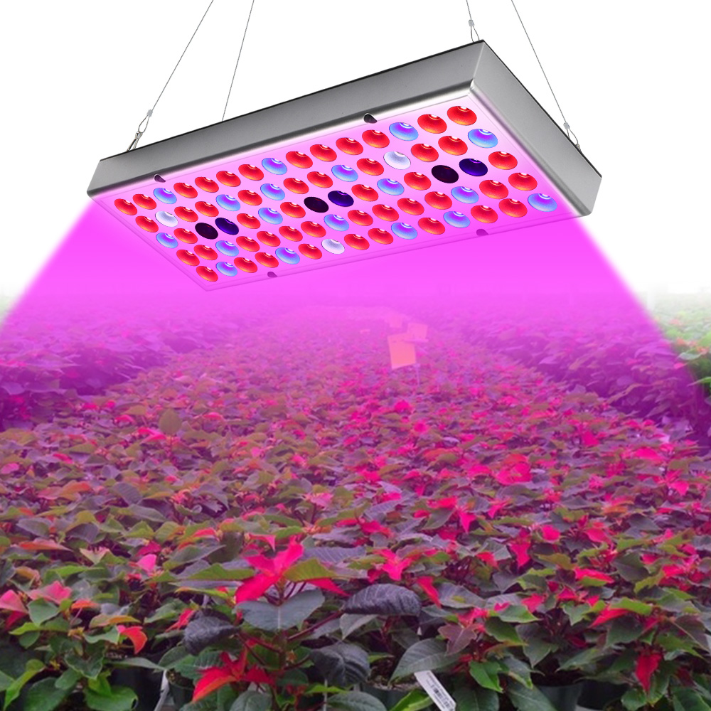25W 45W Plant Light Full Spectrum LED Grow Lights Panel Growing Lamp For Indoor Plants Flowers Greenhouse Bloom Grow Tent
