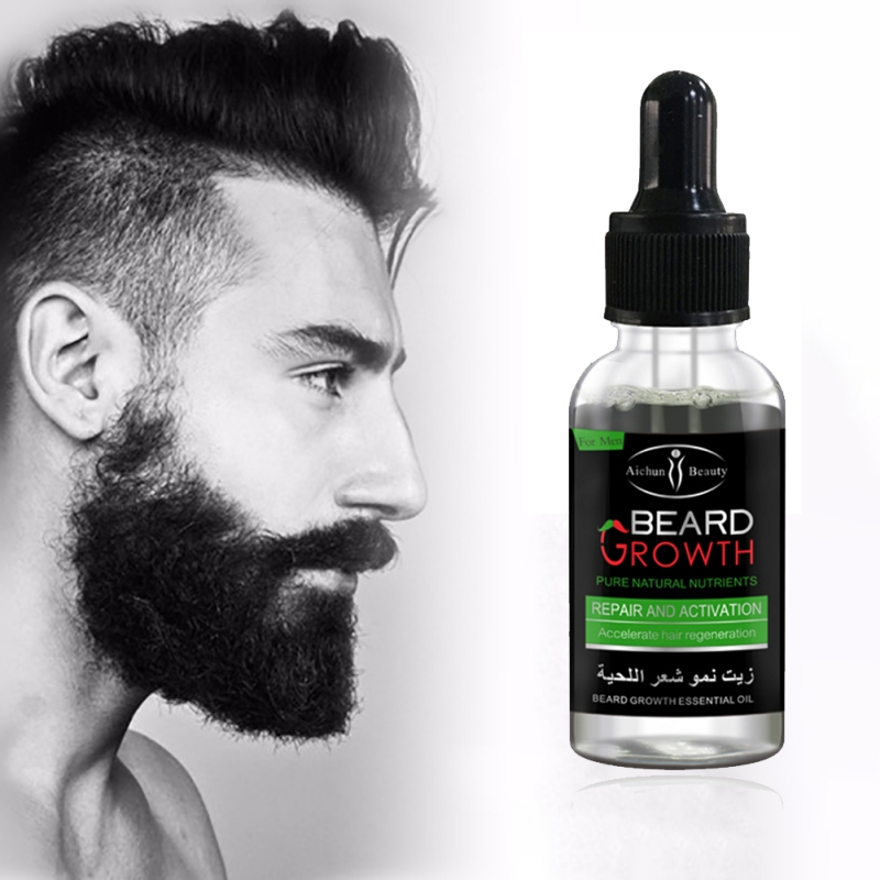 2017 Professional Men Beard Growth Enhancer Facial Nutrition Moustache Grow Beard Shaping Tool Beard care products Pakistan