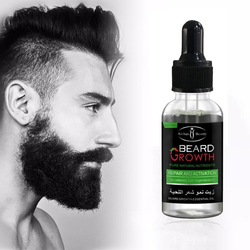 2017 Professional Men Beard Growth Enhancer Facial Nutrition Moustache Grow Beard Shaping Tool Beard care products