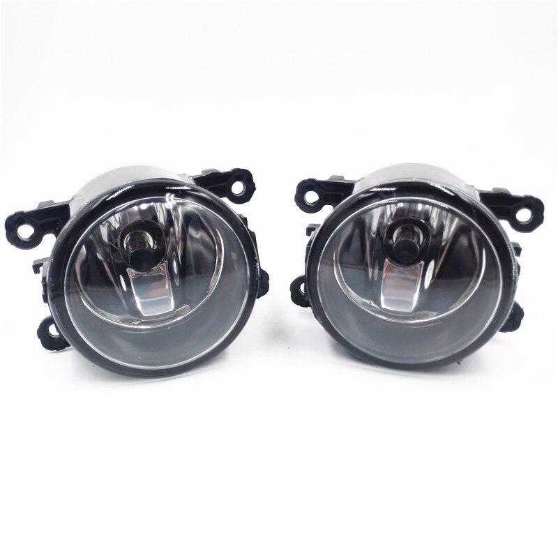 2pcs New Right + Left Side Fog Light Lamp + H11 Bulbs 55W Common For Ford  Jaguar Mitsubishi Renault Peugeot Nissan Suzuki husqvarna 128r купить в минске