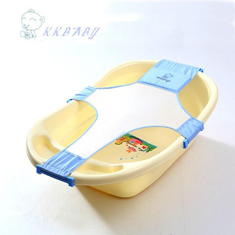 Baby Bath Bed Soft Slip resistant Bath Pad Sling Rack Shower Plate ...
