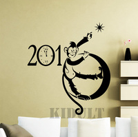 Cartoon Monkey Animal Wall Stickers Vinyl Stickers 2016 New Year Christmas Home Interior Decoration Of High