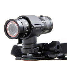 High Quality F9 Mini Outdoor Riding Bike Helmet Sports Camera 3MP 1080P Waterproof Outdoor Action Camera Camcorder
