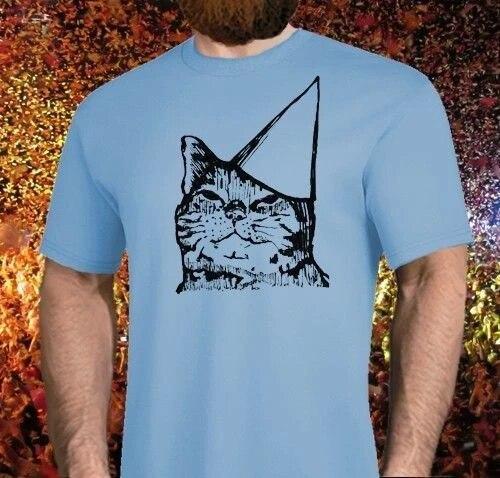 Fashion Men T Shirt Free Shipping Brand New Party Cat Shirt Mens Womens All Sizes Meme Hat Birthday Meow Tee Shirt T Shirts Aliexpress