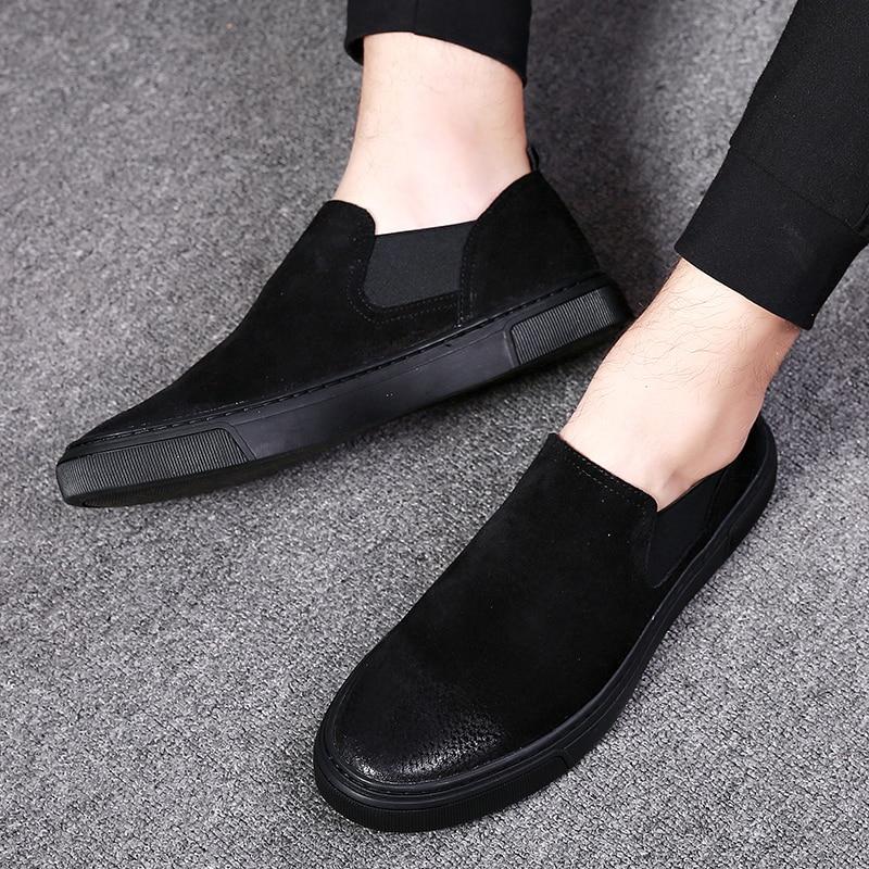 Chaussures Hommes Hombres De Moda Negro Zapatos Hombre Casual Todos Los Llegada Marca En Lona Heinrich Cuir Nueva Para Znqx6qHw