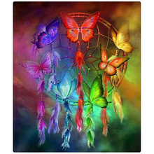 30*40CM pintura completo mariposa