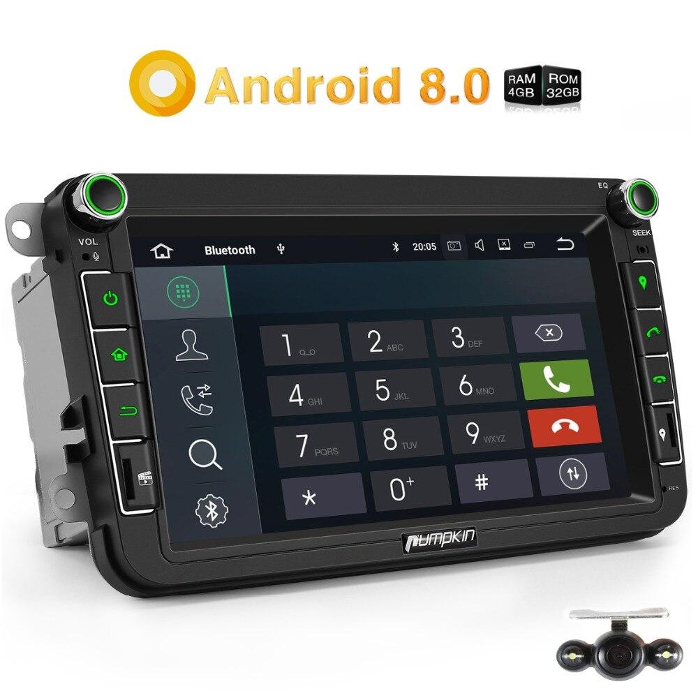 pumpkin 2 din 8 android 8 0 car radio no dvd player gps. Black Bedroom Furniture Sets. Home Design Ideas