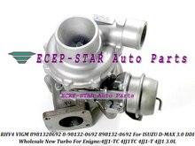 RHV4 VIGM 8981320692 8-98132-0692 898132-0692 Turbo Turbocharger For ISUZU D-MAX 3.0 DDI 4JJ1-TC 4JJ1TC 4JJ1-T 4JJ1T 4JJ1 3.0L