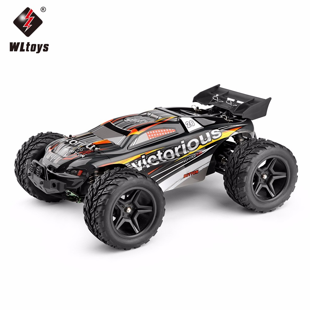Original WLtoys A333 2.4GHz 2WD 1/12 35km/h Brushed Electric RTR Monster Remote Control Car цена