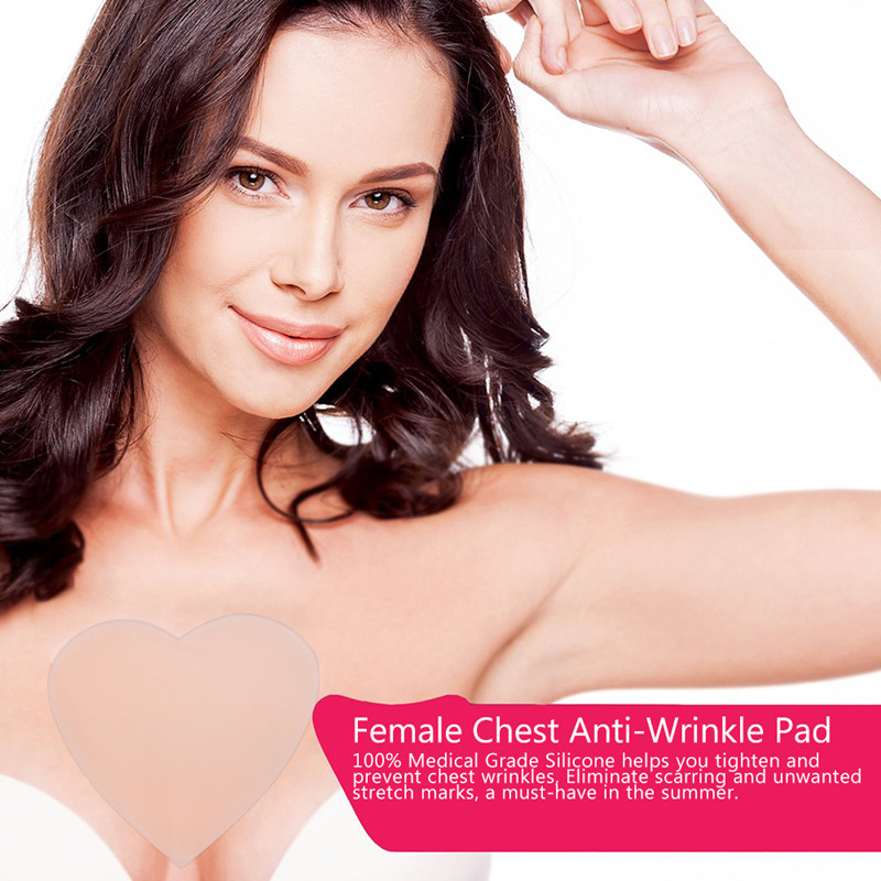 Anti Wrinkle Chest Pad to Prevent and Eliminate Wrinkles 100% Grade Silicone Skin Beauty Care Protect Lines 3
