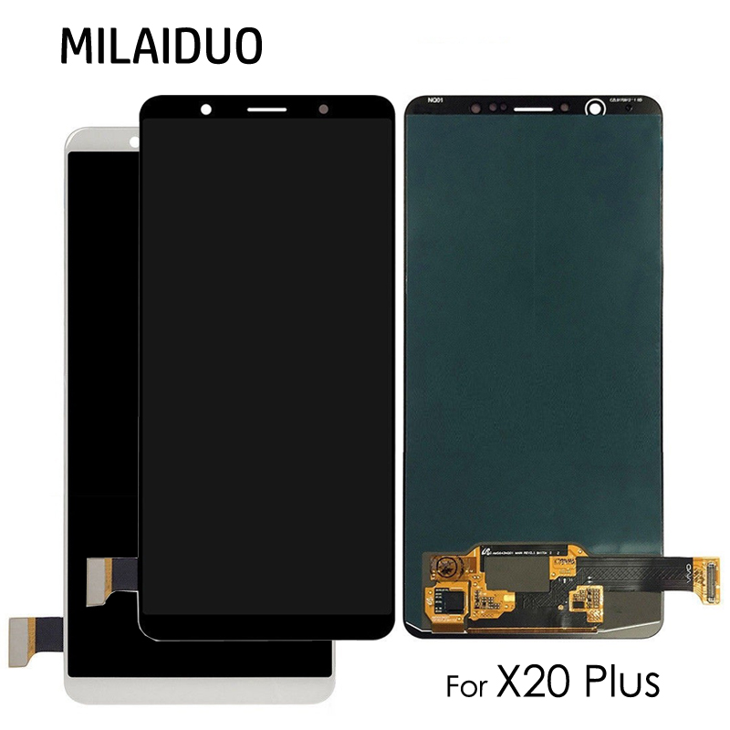 Super AMOLED For VIVO X20 X20 Plus X20P LCD Display Touch Screen Digitizer OLED Full Assembly Replacement Black White No FrameSuper AMOLED For VIVO X20 X20 Plus X20P LCD Display Touch Screen Digitizer OLED Full Assembly Replacement Black White No Frame