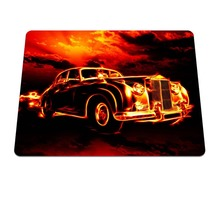 Hot Low flame creative Background Printing Pattern Durable Gaming Notebook Computer Mouse Mat Silicone Anti-slip Pads