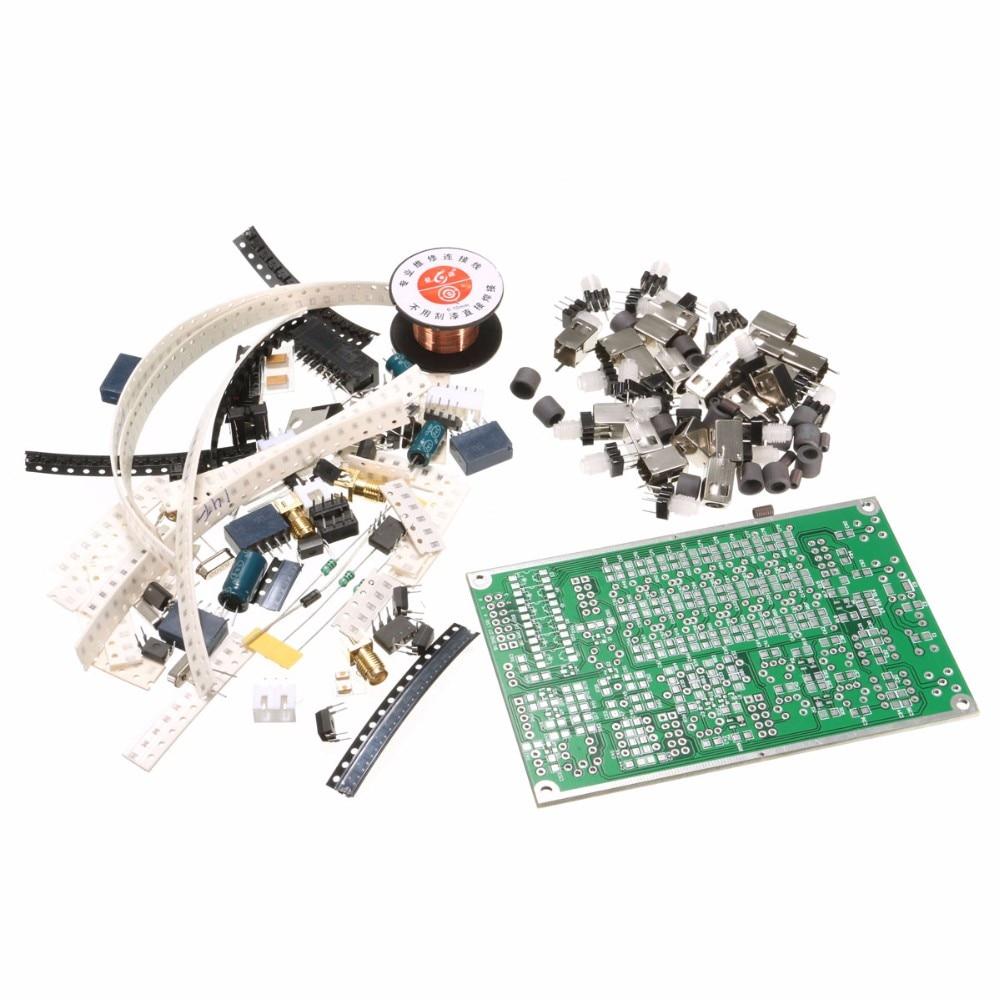 DIY Kit 6-band HF SSB Shortwave Radio Transceiver Board With Instruction r 928 plus hf sdr transceiver hf sdr ssb transceiver rx 1 8 30mhz tx all ham hf bands full modes ssb j3e cw am rx only sam fm
