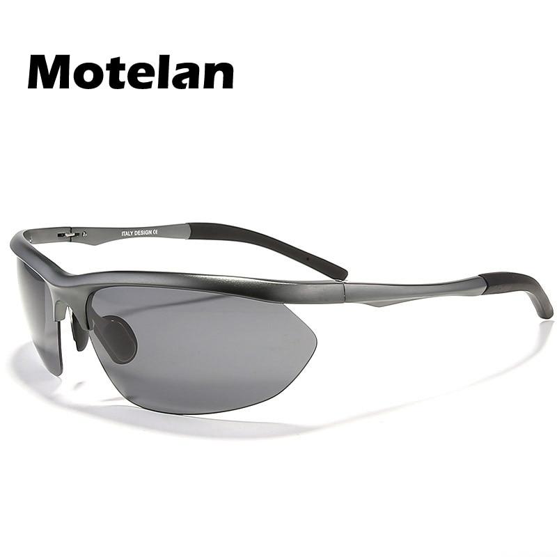 bf3ce166902e3 2017 dos homens óculos Polarizados Condução Óculos de Sol Da Moda Óculos de  Alumínio Em Liga de Magnésio Óculos Polarizados Estilo UV400 Óculos de Sol  8124