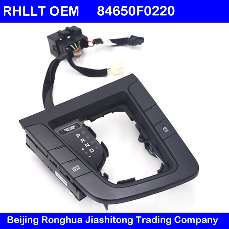 For hyundai Elantra AD 2015 2018 shifting panel assembly Sport mode button Auto start stop switch