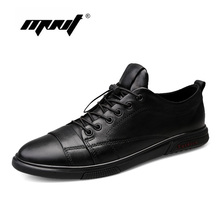 Natural Leather Men Casual Shoes Fashion Sneakers Breathable Walking Loafers Moccasins Quality Driving