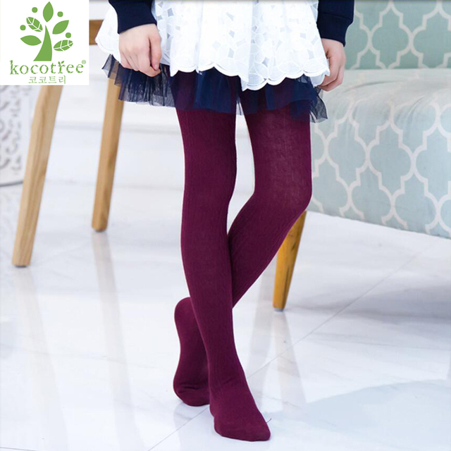 3-12 Years Girls Tights Cotton Pantyhose Ballet Styles Kids Girls Cute Dance Lace Girl velvet Magic Solid Color Baby Stocking