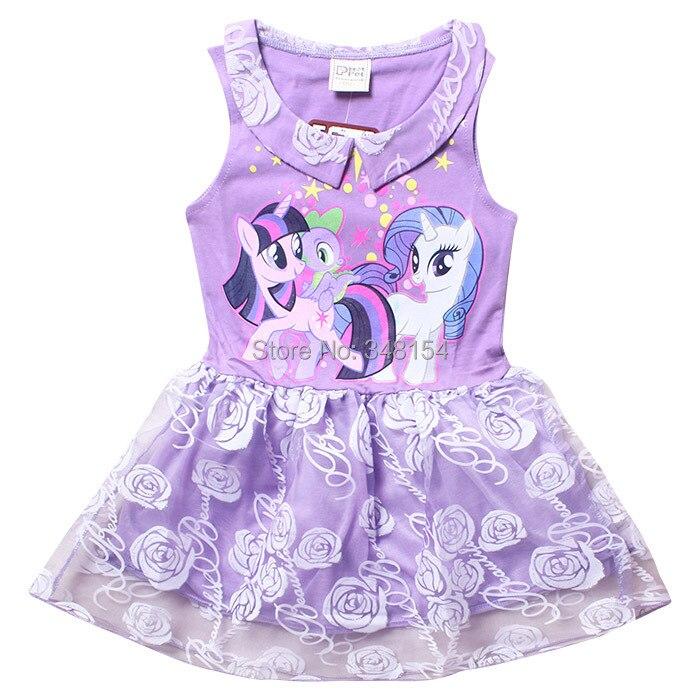 Girls My Little Pony del vestido del tutú 2015 la venta de princesa ...