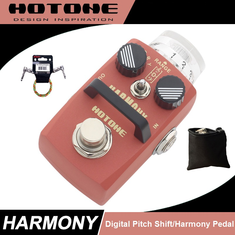 Hotone Harmony Pitch Shifter Effect Pedal with Free Pedal Case and More catherine douillet national harmony and its discontents