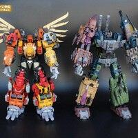 2018 IN Stock 6 In 1 JINBAO JB8879 Transformation Upgrade Edition Jinbao MMC Predaking Feral Rex Figure Toy