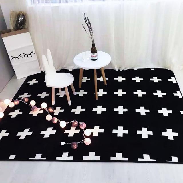 Thick Floor Mat Soft Carpet High Quality Rug Living Room