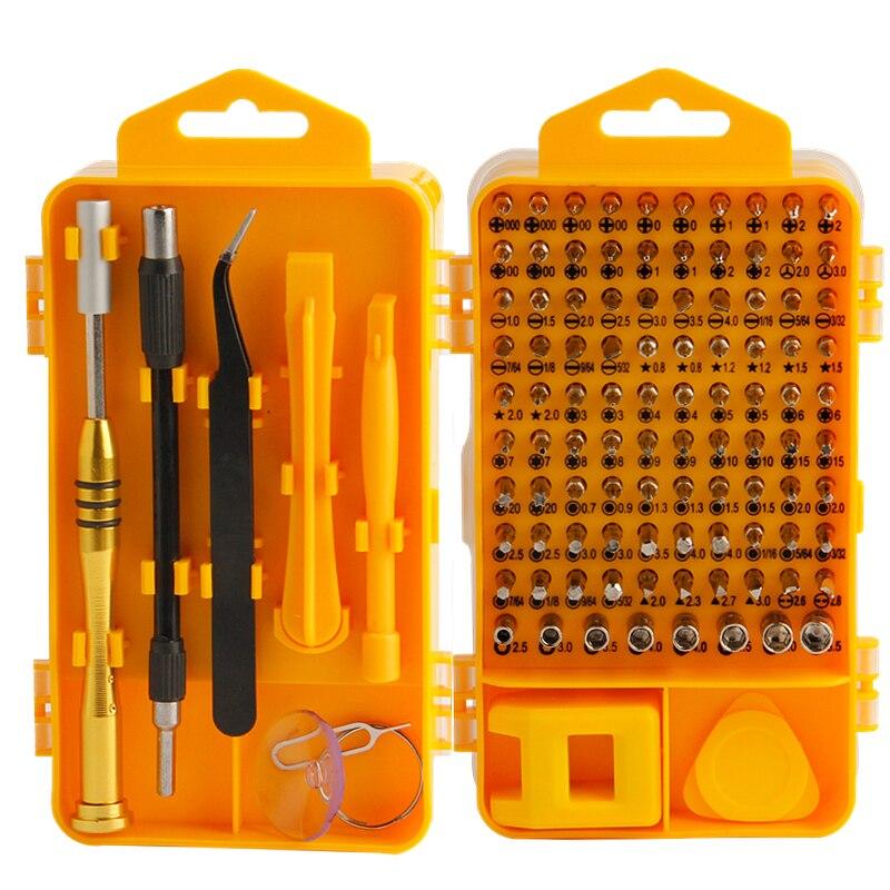 EVANX 108 в 1 прецизионные отвертки наборы для ухода за кожей CR-V Multi-function компьютер мобильный телефон ремонт ручные инструменты