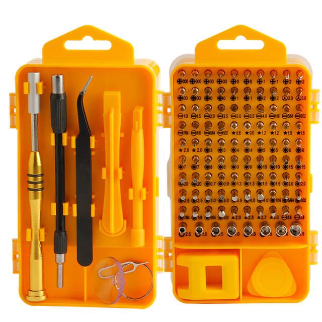 EVANX 108 in 1 Precision Screwdriver Sets CR-V Multi-function Computer Mobile Phone Repair Hand Tools