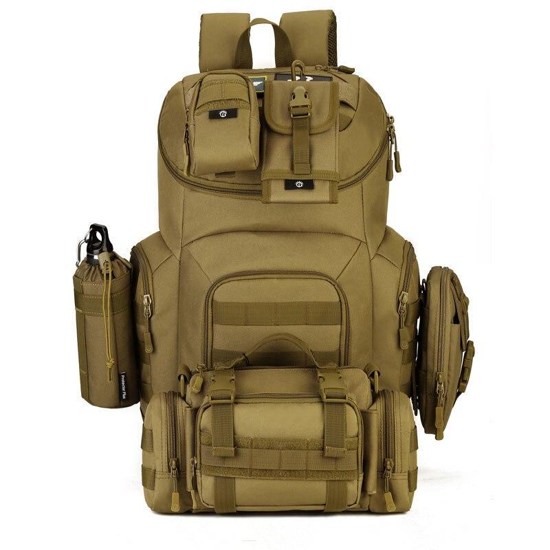40L sac extérieur Camouflage militaire sac à dos sacs tactiques sport ordinateur portable sac d'école sacs à dos sacs de chasse de pêche durables