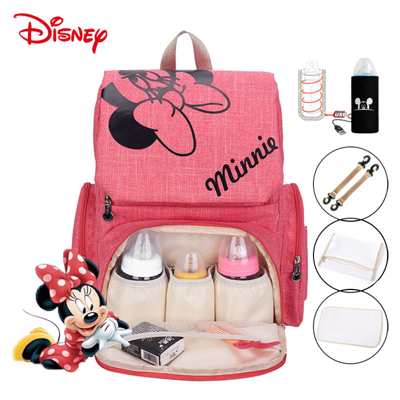 Disney Baby Bags For Mom Anne Bebek Cantalari Baby Diaper Bag Nappy Torba Do Wozka Sac A Langer Mochila Maternal Bolso Wet Mummy