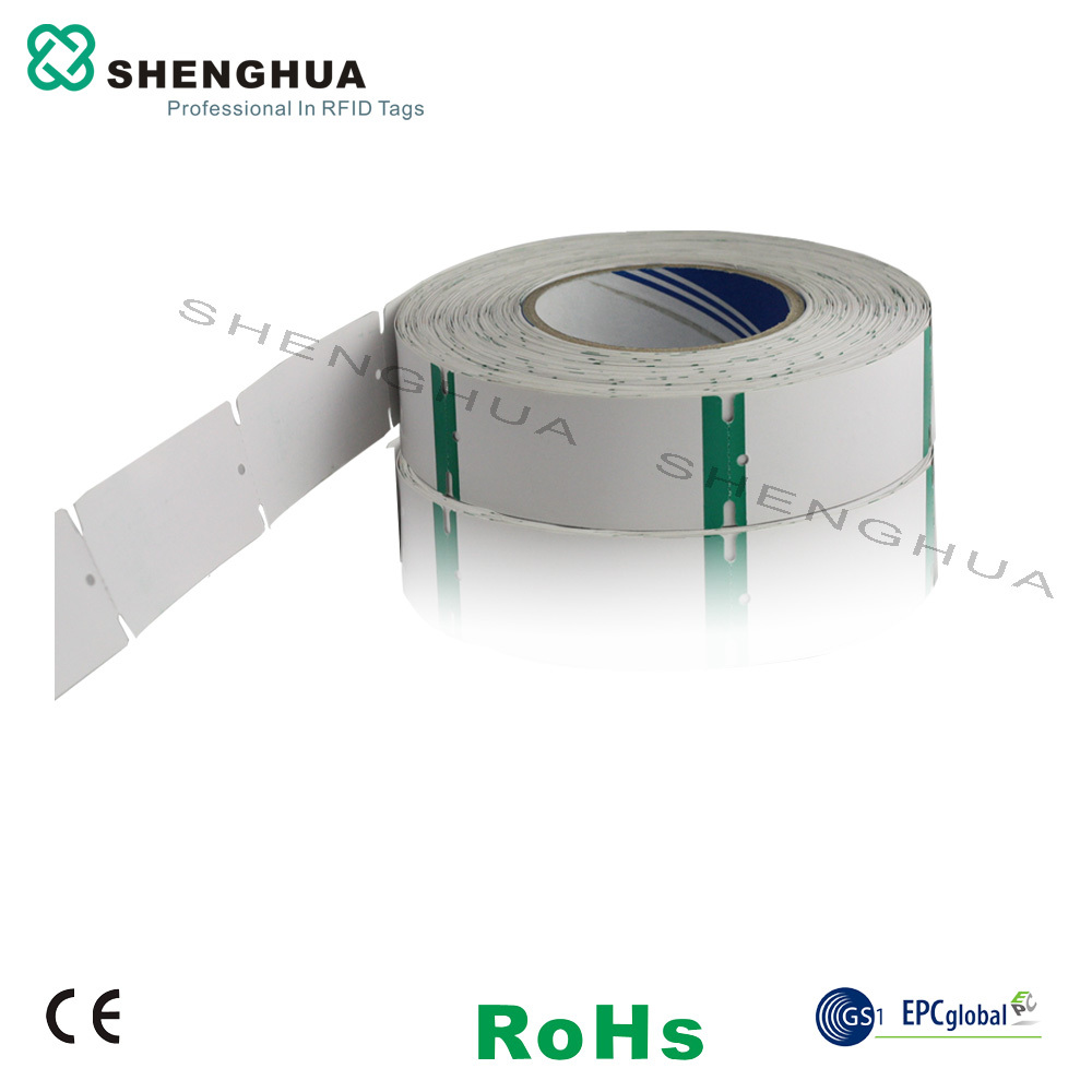 10pcs/pack Programmable UHF RFID Garment Tag Passive Smart Hang Cloth Tag ISO 18000-6C For Inventory Management Tracking