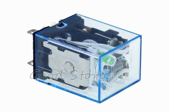 1 шт ly2nj 220 В переменного тока катушка постоянного 10 А 240