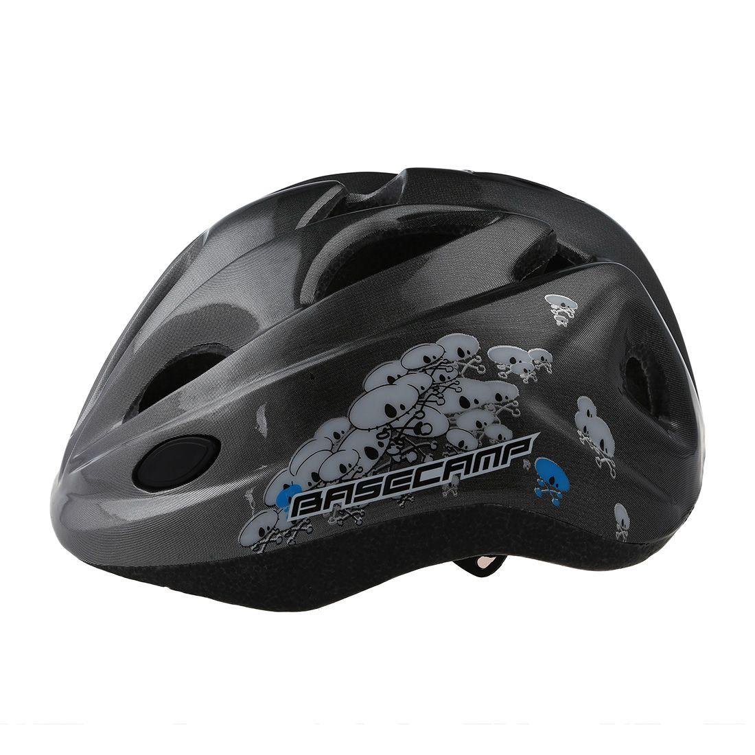 Good deal-BASECAMP Children Bicycle Helmets Hero Style Safety Bike Helmet Night Light Ultralight Breathable Cycling Kid Helmet