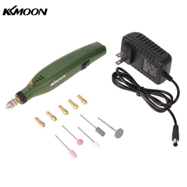 Mini broyeur électrique graveur perceuse ensemble de meulage machine de gravure pour le fraisage polissage forage coupe AC110V 230V