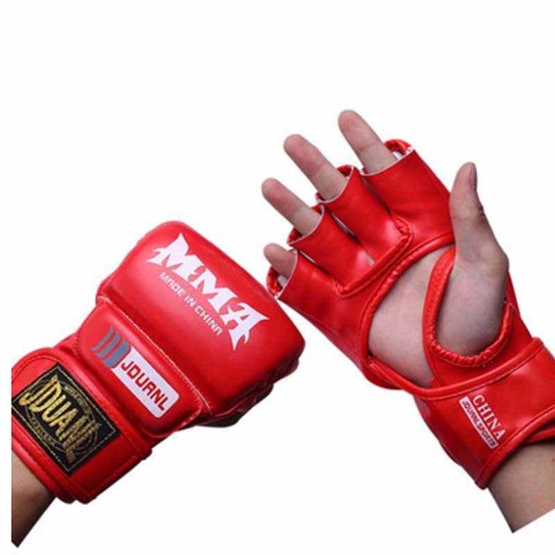Half Finger Boxing Gloves Men Gants De Boxe MMA Luva Boxe MMa Gloves Fighting Training Luva De Box PU Sandbag Boxing Equipment 13