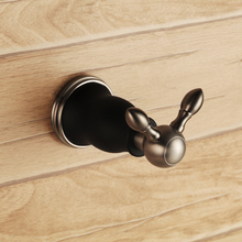 All Solid brass copper Matte Black Brushed Nickel bathroom toilet Clothes hook new Robe hook bath hardware accessories
