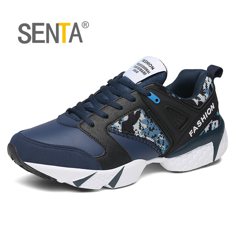 SENTA Big Size Men Women Athletic Shoes Sport Sneakers Breathable Running Shoes Outdoor Outdoor Jogging Walking Shoes for Male
