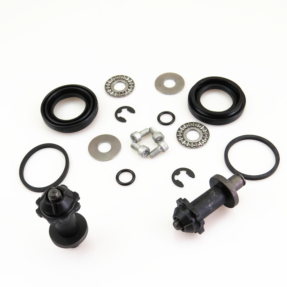 2 Kit Rear Hand Brake Calipers Servo Motor Connected Screw