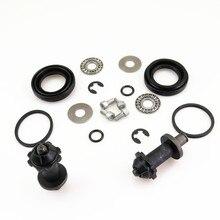 2 Kit Rear Hand Brake Calipers Servo Motor Connected Screw Bearing Washers VW Tiguan Sharan Passat CC B7 Seat Alhambra A4 A6 Q3