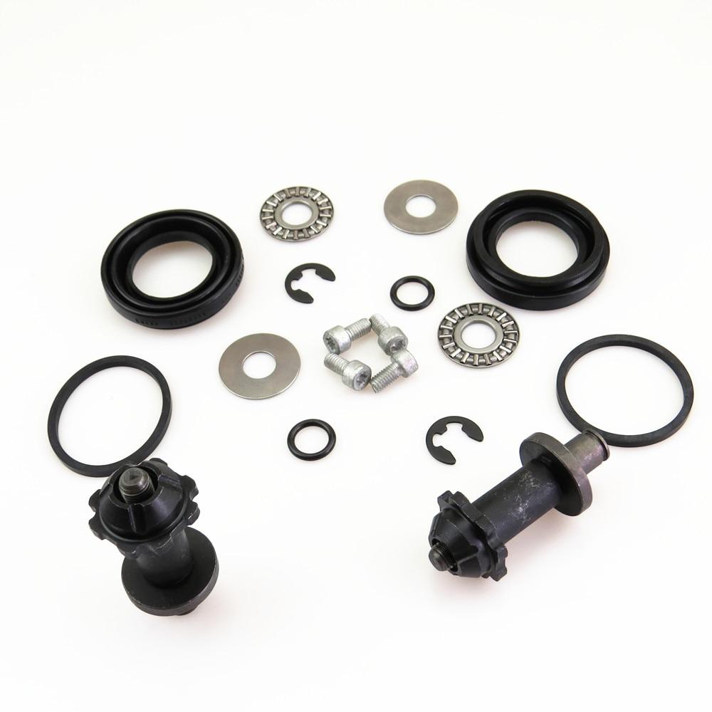 ZUCZUG 2Kit Rear Hand Brake Calipers Servo Motor Connected Screw Bearing Washers For VW Tiguan Sharan Passat CC Seat Alhambra A6