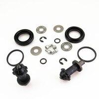 2 Kit Rear Hand Brake Calipers Servo Motor Connected Screw Bearing Washers VW Tiguan Sharan Passat