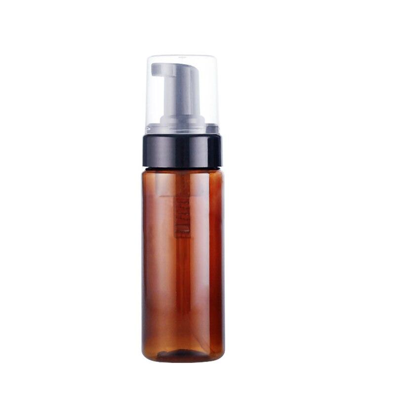 1ps Empty 60ml 150ml Amber Plastic Facial Cleanser Liquid Soap Dispenser Best Cheapest Foam Bottle Refillable Bottles Drop Ship