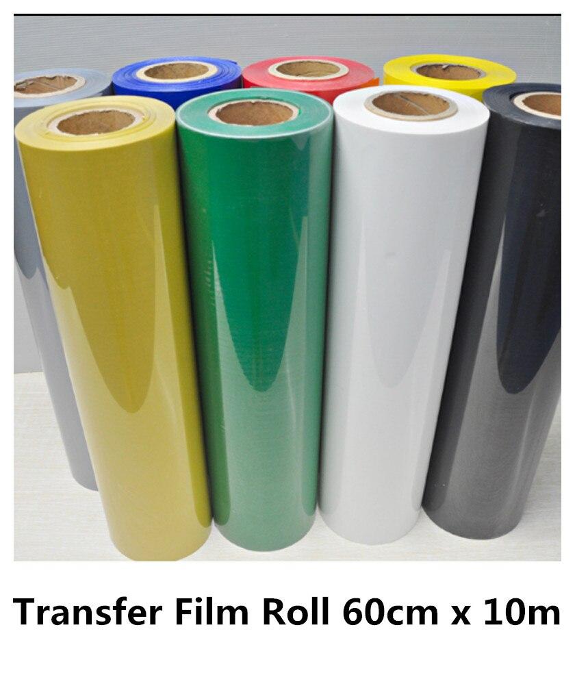 0.6*10m Wholesale Hot Peeling PVC Vinyl Heat Transfer Film Roll T-Shirt Transfer Film