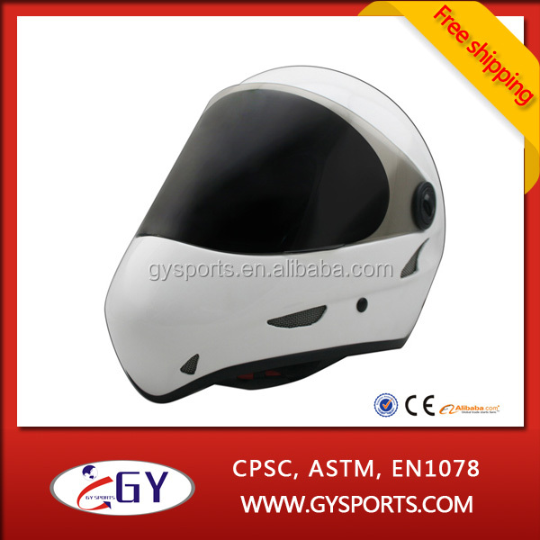 2015 High Quality Downhill Full Face Longboard And Skateboard Helmet for men Free Shipping
