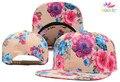 Belababy 2016 Floral Flower Blank Snapback Hats Men Women Hip Hop Baseball Caps Fashion Hip-hop Bone aba reta Gorras