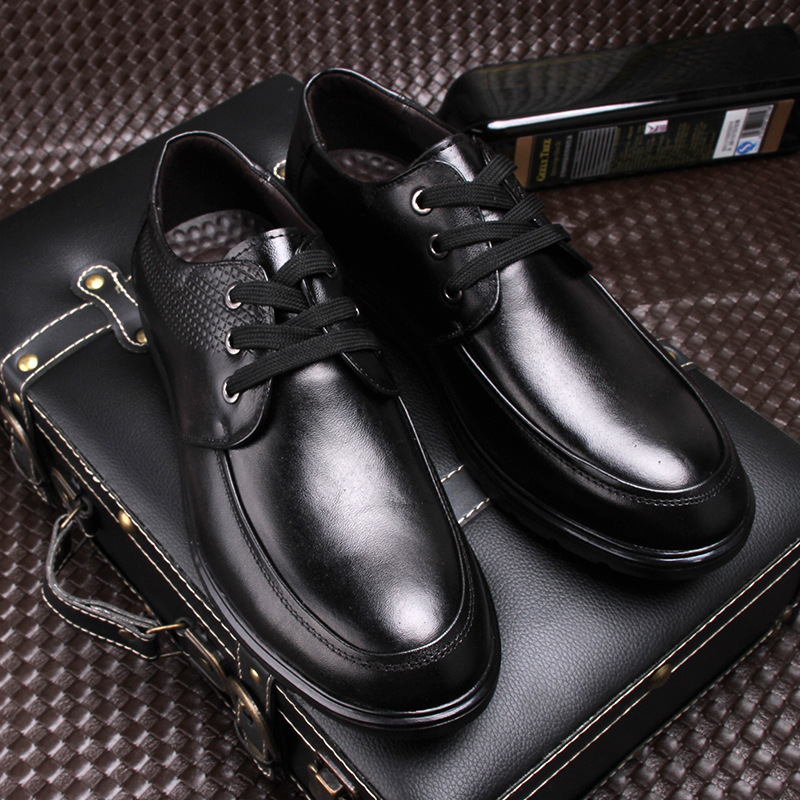 ФОТО   spring  New England men's lear shoes dress business casual shoes men shoes  lear breathable shoes