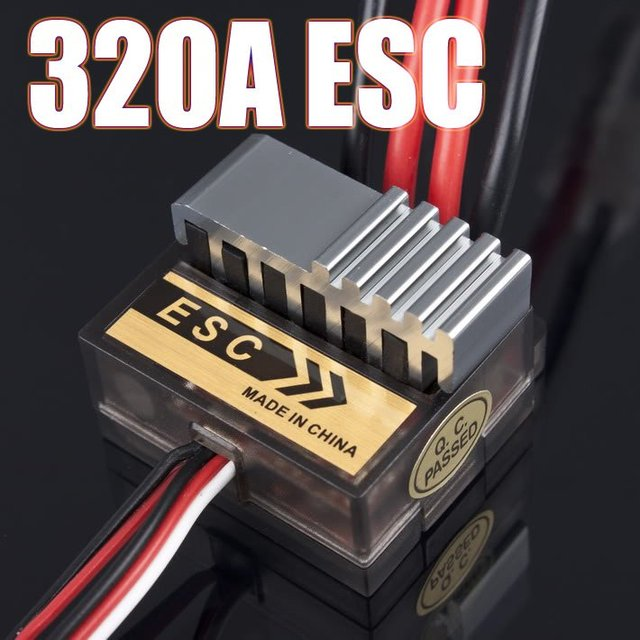 10pcs 320A Speed Controller ESC For RC Car /boart 1/8 1/10 Truck Buggy FOR HSP 1/10 Exceed AMAX HIMOTO TOY SPORTS