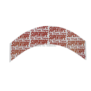 Image 1 - 36 stks/partij super tape Lace Front Pruik Ondersteuning Sterke Dubbele Tape Voor Toupet/Haarverlenging/Lace Pruik Tape maat 7.6*2.2cm