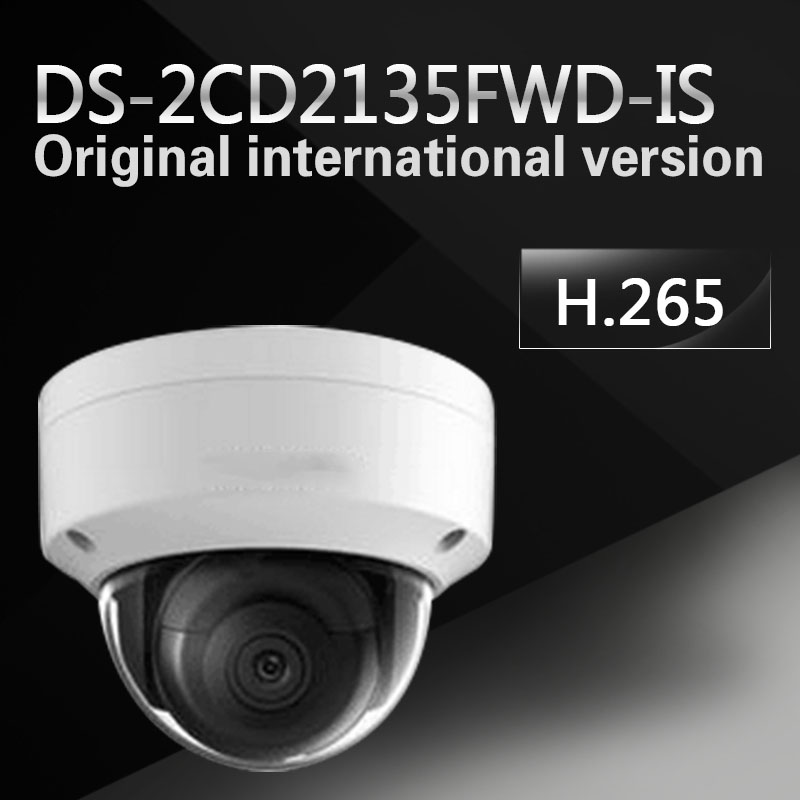 New english version DS-2CD2135FWD-IS replace DS-2CD2135F-IS 3MP Ultra-Low Light Network Dome Camera